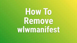 Wp Remove Wlwmanifest Header Php